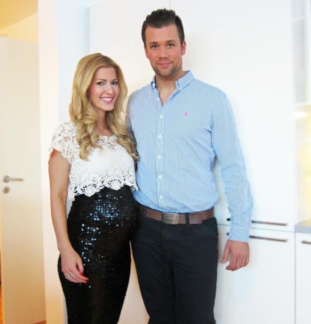 Marianne og Espen - gravid uke 25