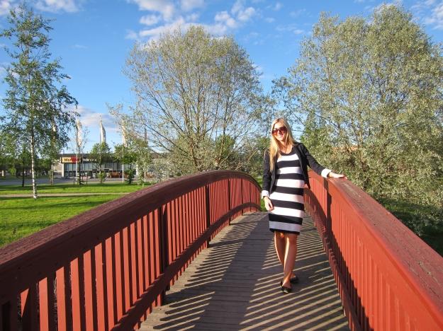 piken på broen